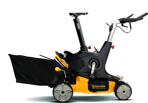 Illustration of the Exercise Mower