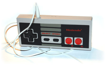 The finished NES controller MP3 player