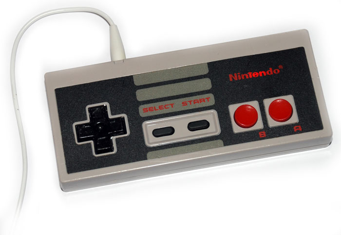 NES MP3 player, logo flashes when in use