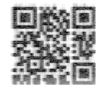 Spectrogram of an acoustic QR code