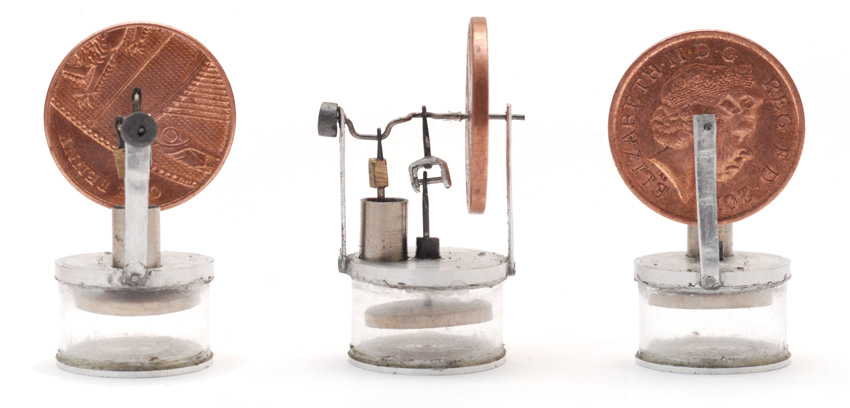 Photos of the tiny stirling engine