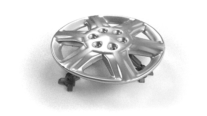 Render of the hubcap sprouting legs